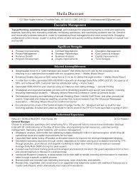 Top Management Resume Samples Sample Management Resumes Into