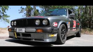Straight Piped E30 BMW 325is (1987 Race Car) - YouTube