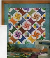 Details about Flying Dutchman Quilt Pattern Pieced AP | Quilt ... & Pinwheels Spools & Scraps Quilt Pattern Pieced BY Adamdwight.com