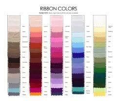 Jordan Bridesmaid Dresses Size Chart Ribbon Color Chart French Novelty