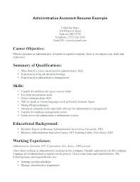 Duties Of Administrative Assistant Enchanting Entry Level Administrative Assistant Resume Colbroco