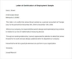 New Employment Certificate Sample For Visa Application Image Sample