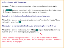 Vancouver 2nd Edition Citation Style Guide Libguides At