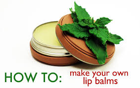 diy how to make your own lip balms