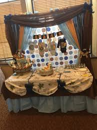 noahs ark baby shower ideas for baby shower party. Noah\u0027s Ark Theme Baby Shower Backdrop And Cake Table Noahs Ideas For Party D
