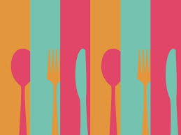 Powerpoint Templates Food Fork And Spoon Powerpoint Templates Arts Food Drink Free Ppt
