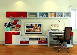 computer desk tv stand combo owiczart with and decorations 8
