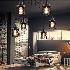 vintage light loft industrial decor warehouse ring pendant light american lamps for restaurant bedroom home decoration e27 pendant track lighting vintage