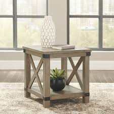 Double up on form and function with this square coffee table with storage. The Aldwin Gray Cocktail Table With Storage Sold At Texas Discount Furniture In Laredo Tx And Surrounding Areas