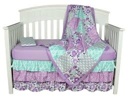 bedding sets the peanut shell image purple baby bedding zoe 4 in