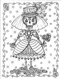 Instant Download Halloween Coloring Pages Art