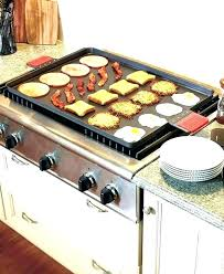 can you use cast iron on a flat top stove cookware for glass stoves skillet griddle