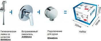 <b>Гигиенический комплект Ideal Standard</b> Set Ceraplan II B0040AA ...