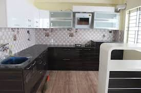asian kitchen design. L Shaped Modular Kitchen Designs: Asian By Scale Inch Pvt. Ltd. Design