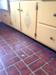 brick linoleum flooring red brick pattern linoleum flooring