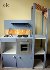 Homemade Play Kitchen A Finished Play Kitchen Emilia Keriene
