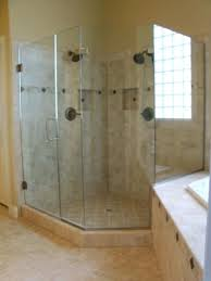 install glass shower door before glass shower installation a better view glasirror custom heavy