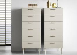Tall Bedroom Chest Of Drawers Praga Tall Chest Of Drawers Contemporary Bedroom Furniture At Go