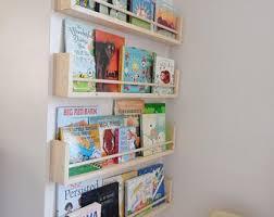 hanging bookshelf for nursery er