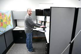 desktop standing desk australia ergonomic stand up computer workstation diy converters corner