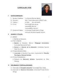modelo curriculum modelos de resume modelo curriculum vitae template pinterest