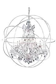 6 light orb chandelier amazing crystal orb chandelier metro light crystal orb chandelier in polished nickel