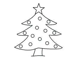 Coloring Christmas Tree Coloring Sheets Sheet Kindergarten Pages