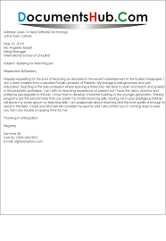 Tutor Cover Letter Cover Letter For A Teaching Job With No Experience