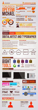 Infographic Resume Design Inspiration Cool Cvs And Resumes