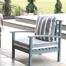 acacia wood patio chair with cushion