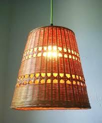 rattan basket pendant light home decor s in delhi