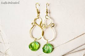 diy chandelier earrings crafts unleashed 11