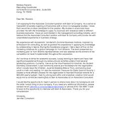 Cover Letter Consulting Firm Free Resumes Tips