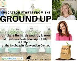 Do you believe education starts from the ground up? Do you want to start a  food revolution? Then join Avis Richards & Joy Bauer… | Nyc student,  Education, Joy bauer