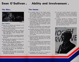 Election Brochure Sean O'Sullivan Campaign Election Brochure 1