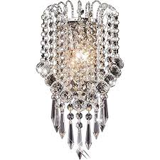 <b>OYGROUP</b> Crystal Wall Light with Crystal Ball Drops Decorative ...