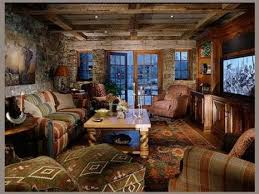 Western Decor For Living Room Western Decor Ideas For Living Room Log Home With Barn Wood And