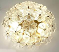 glass flower chandelier glass flower chandelier glass ceiling light photo hand blown glass flower chandelier glass