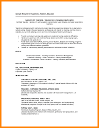9+ substitute teacher resume samples | apgar score chart