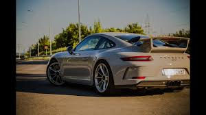 2018 porsche gt3 chalk. modren 2018 2018 9912 porsche 911 gt3  500hp launchcontrol start sick  acceleration sound stock exhaust in porsche gt3 chalk