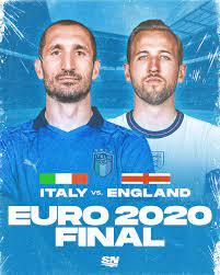 Italy vs. England ...
