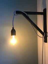 Diy Lamp Boekenplanksteun Ikea Industrieel Zwart Flexa Early Dew