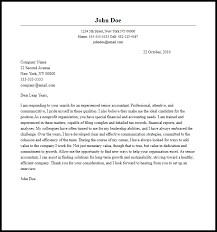 professional senior accountant cover letter sample create cover letter cover letter examples accounting