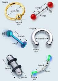 Body Jewelry Measurement Chart How To Measure Body Jewelry Rebel Bod