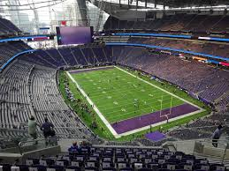 Us Bank Stadium View From Section 331 Vivid Seats