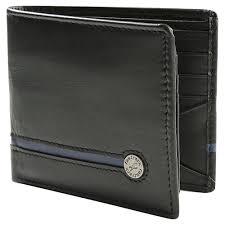 fastrack black leather bi fold wallet for men c0368lbk01 at best india fastrack in fastrack