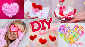5 DIY Valentine\u0027s Day Gifts and Room Decor Ideas - YouTube