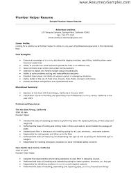 Sample Plumber Resume Best of Professional Resume Helper Template Plumber Cv Cover Letter 24 Sample
