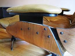 authentic eames lounge chair. Eames Chair Knockoff Classic Lounge Ottoman Black Style Stylish Authentic _