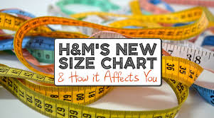 Hm Size Chart H Ms Size Chart Changed Heres What That Means For You